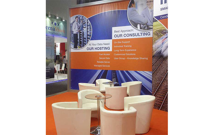 Messestand INNOTRANS 2014